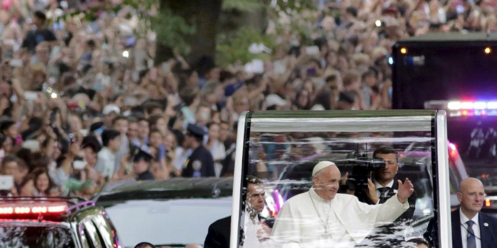 Donde también la gente lo recibió con los brazos abiertos Foto:AP