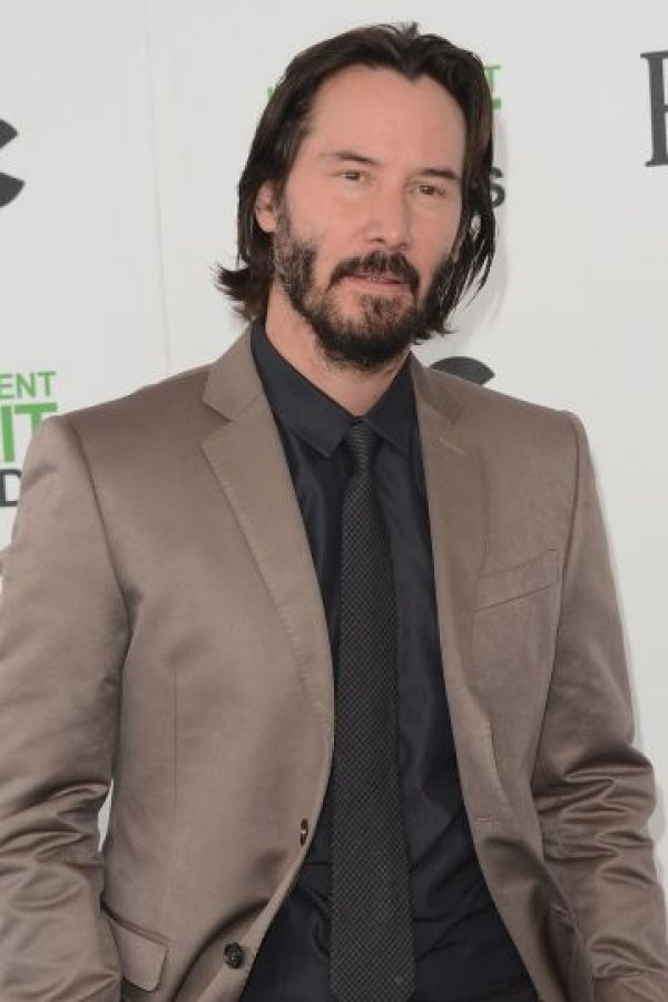 El actor Keanu Reeves con… Foto:Getty Images