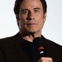 El actor y cantante John Travolta con… Foto:Getty Images