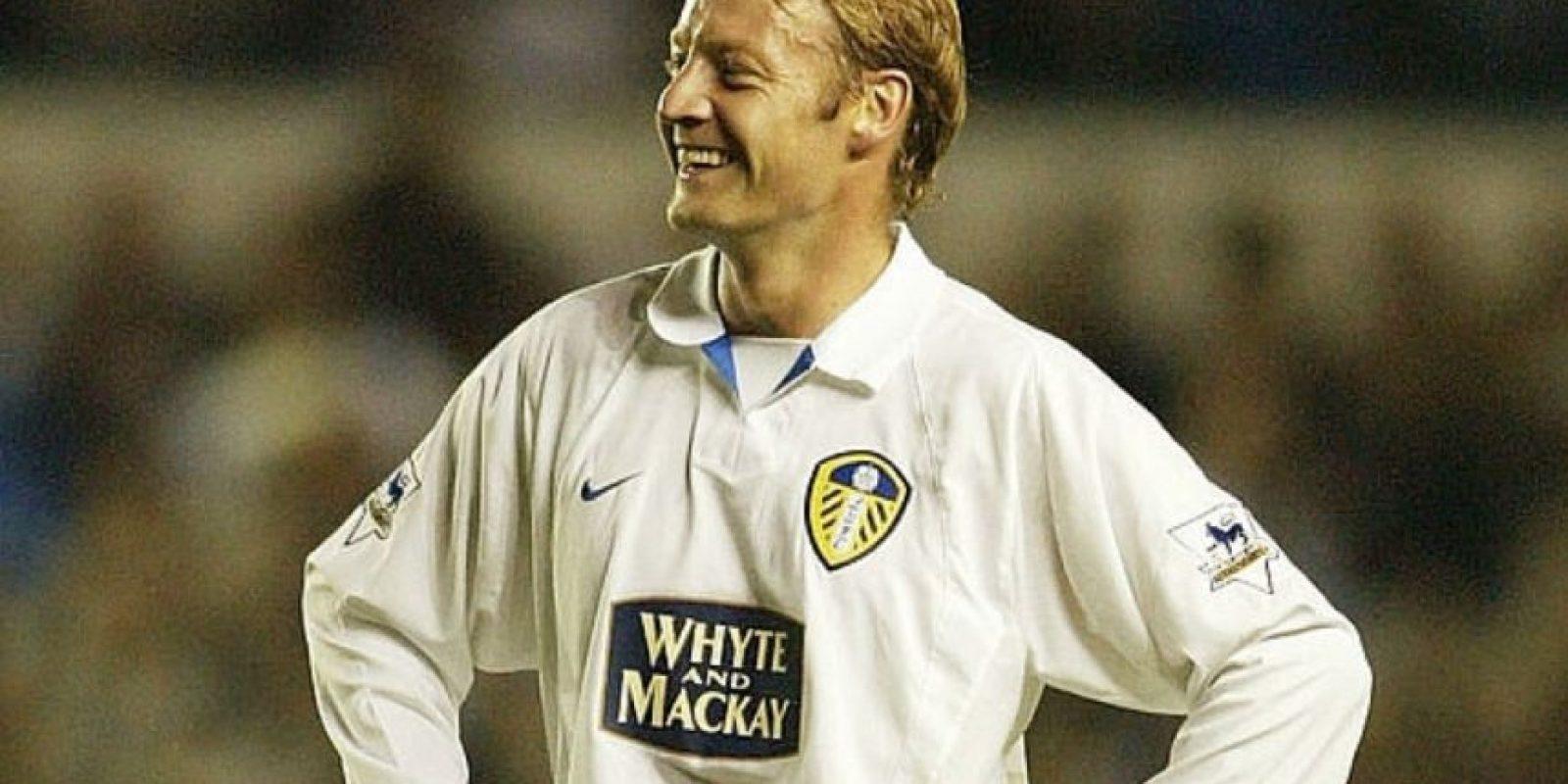 """Después de retirarse del fútbol competitivo, el jugador que dejó su sello en Leeds y jugó la selección de su país dijo: """"El deporte inglés es aburrido, yo no he ido a ver ningún partido desde que terminé de jugar. Nunca pude entender a quien paga por eso"""". Foto:Archivo Getty Images."""