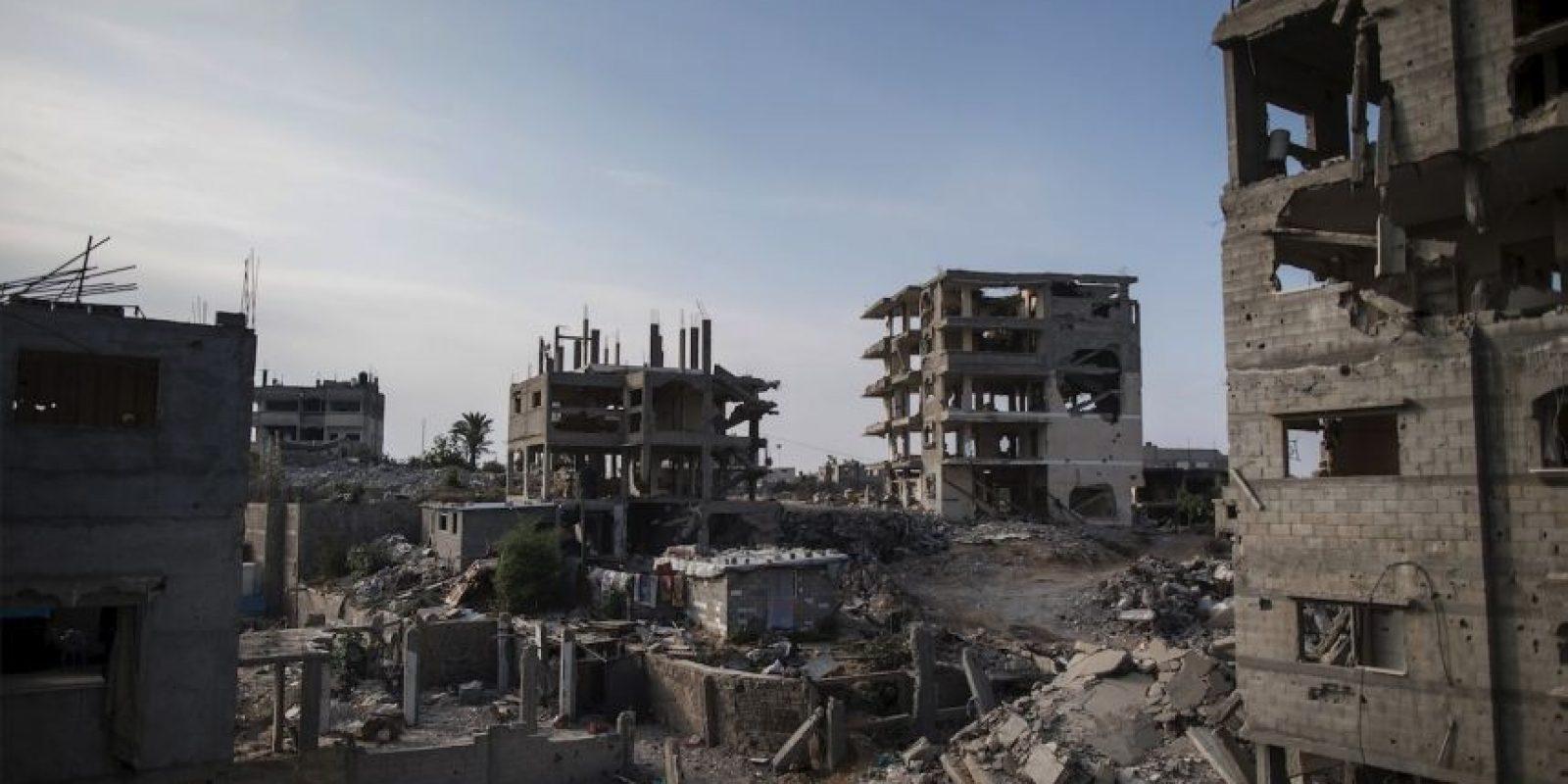 La operación de 2014 causó cerca de 500 mil desplazados Foto:Getty Images