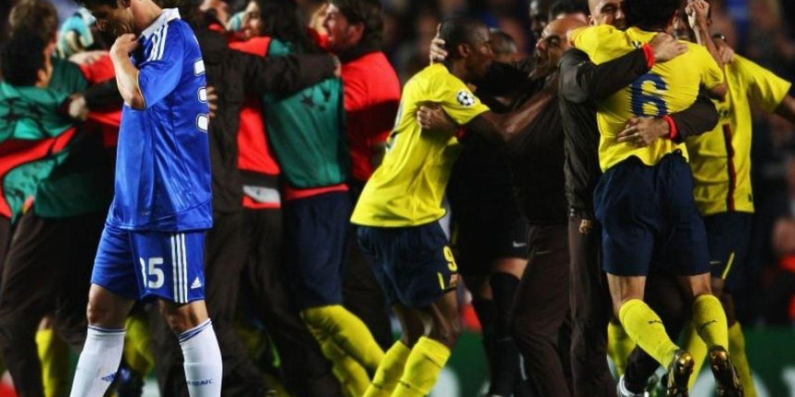 3. Chelsea vs. Barcelona. Semifinal de vuelta Champions League 2008-2009. Foto:Getty Images