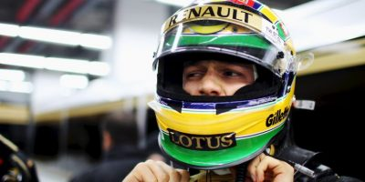 El sobrino del mítico Ayrton Senna corrió 8 carreras para Renault en las que sumó 2 puntos. Foto:Getty Images