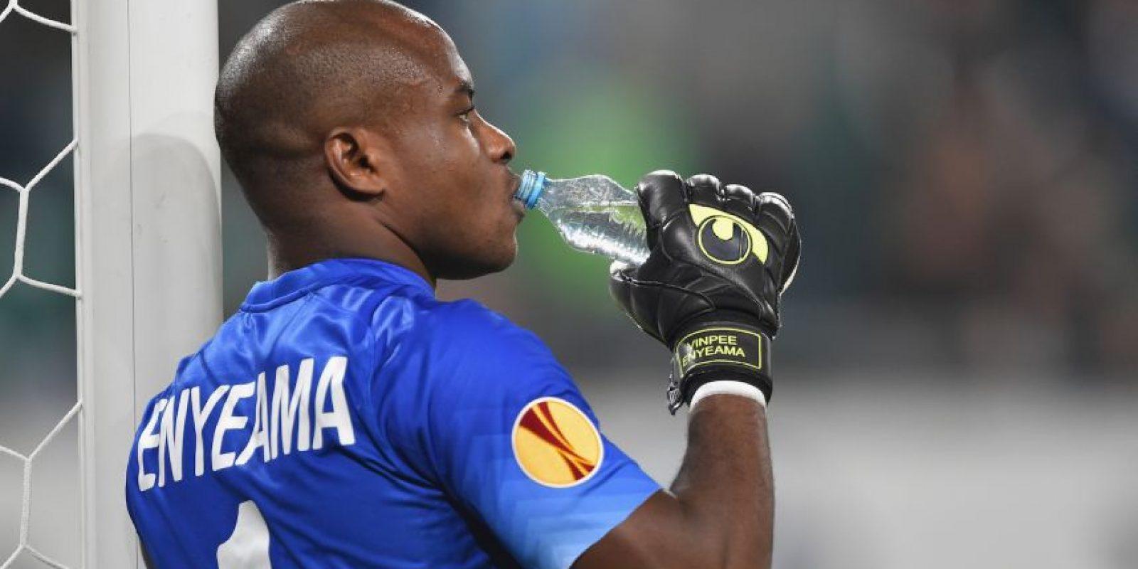 Vincent Enyeama, portero de Nigeria Foto:Getty Images