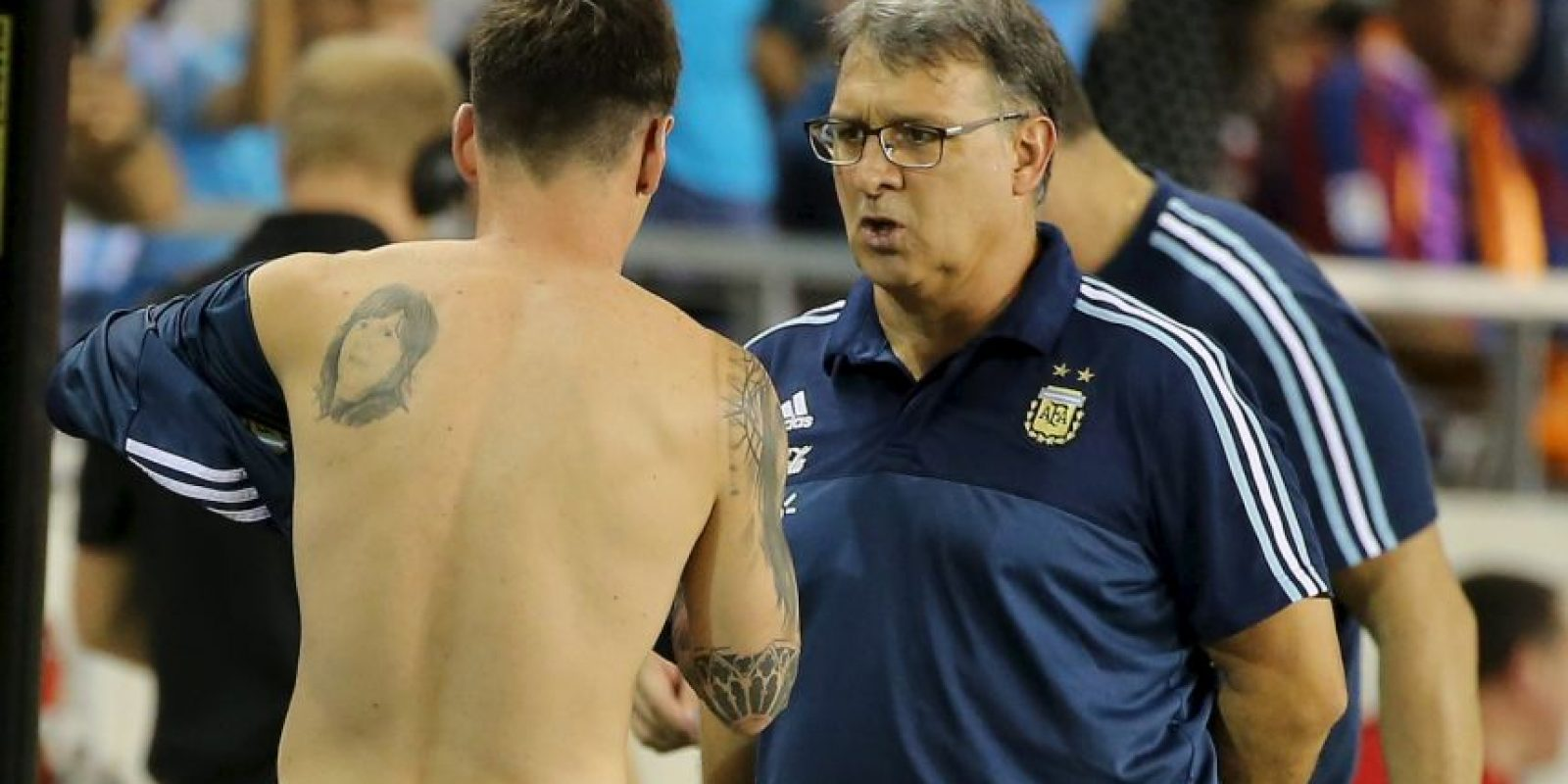 Gerardo Martino, DT de la Selección de Argentina Foto:Getty Images