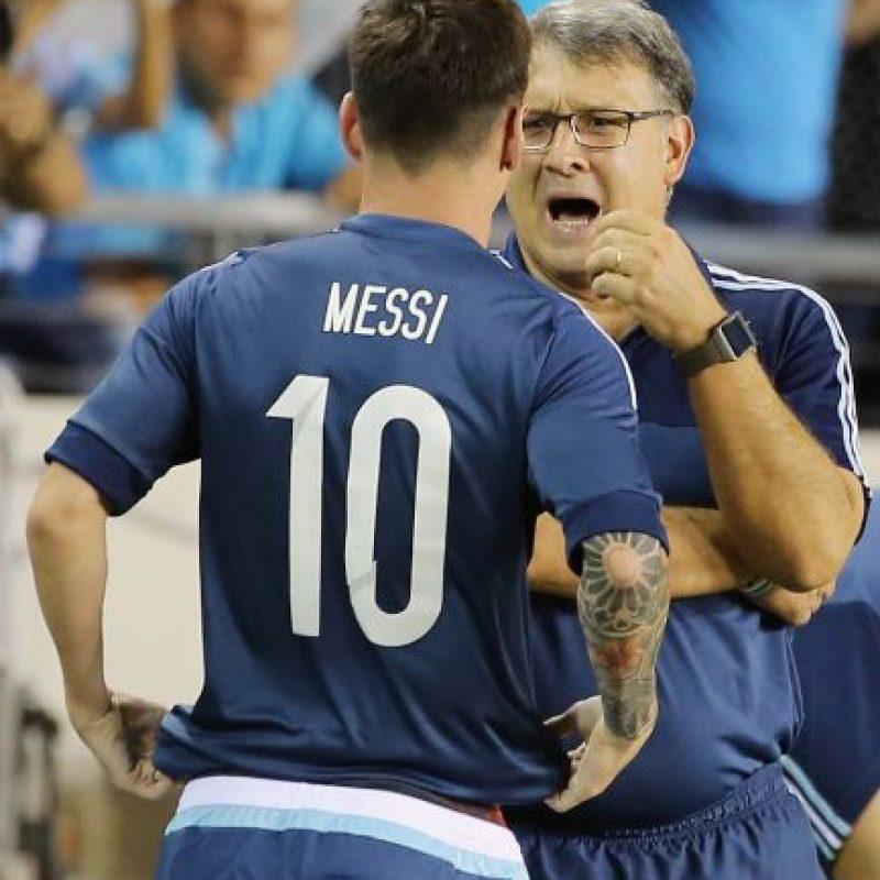 """""""Es injusto que critiquen al mejor futbolista del mundo y su desempeño en la Selección"""" Foto:Getty Images"""