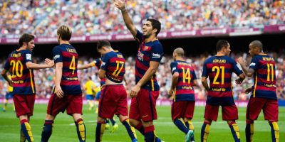 Sin Messi, Barcelona (España) visita al Bayer Leverkusen (Alemania). Foto:Getty Images