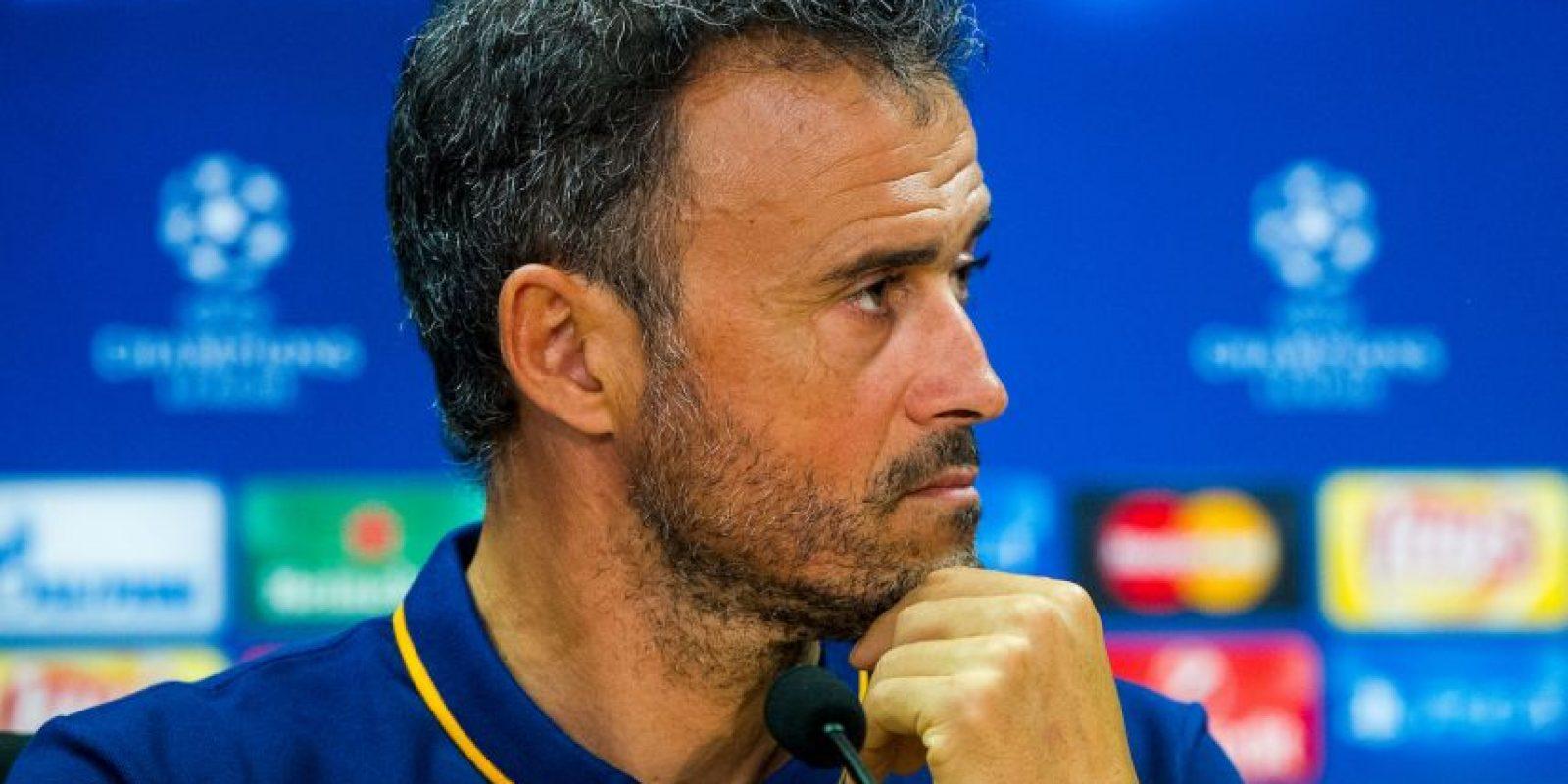 Luis Enrique, técnico del Barcelona Foto:Getty Images