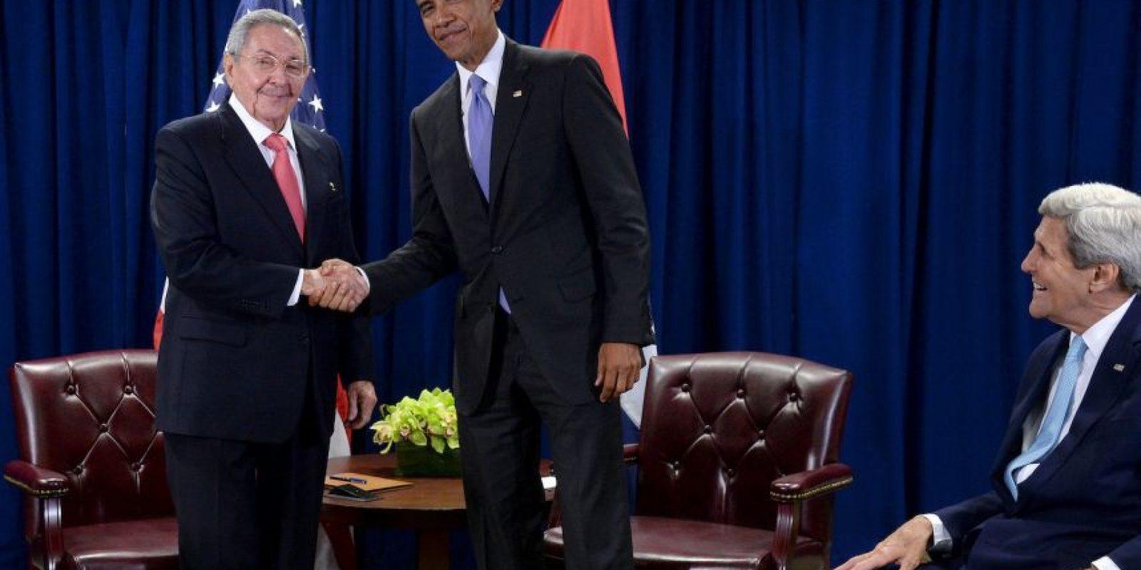 Sostuvieron un encuentro privado Foto:Getty Images