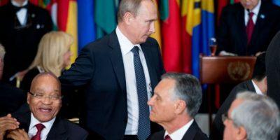 Ambos habían dado sus discursos respecto al conflicto en Siria. Foto:AP