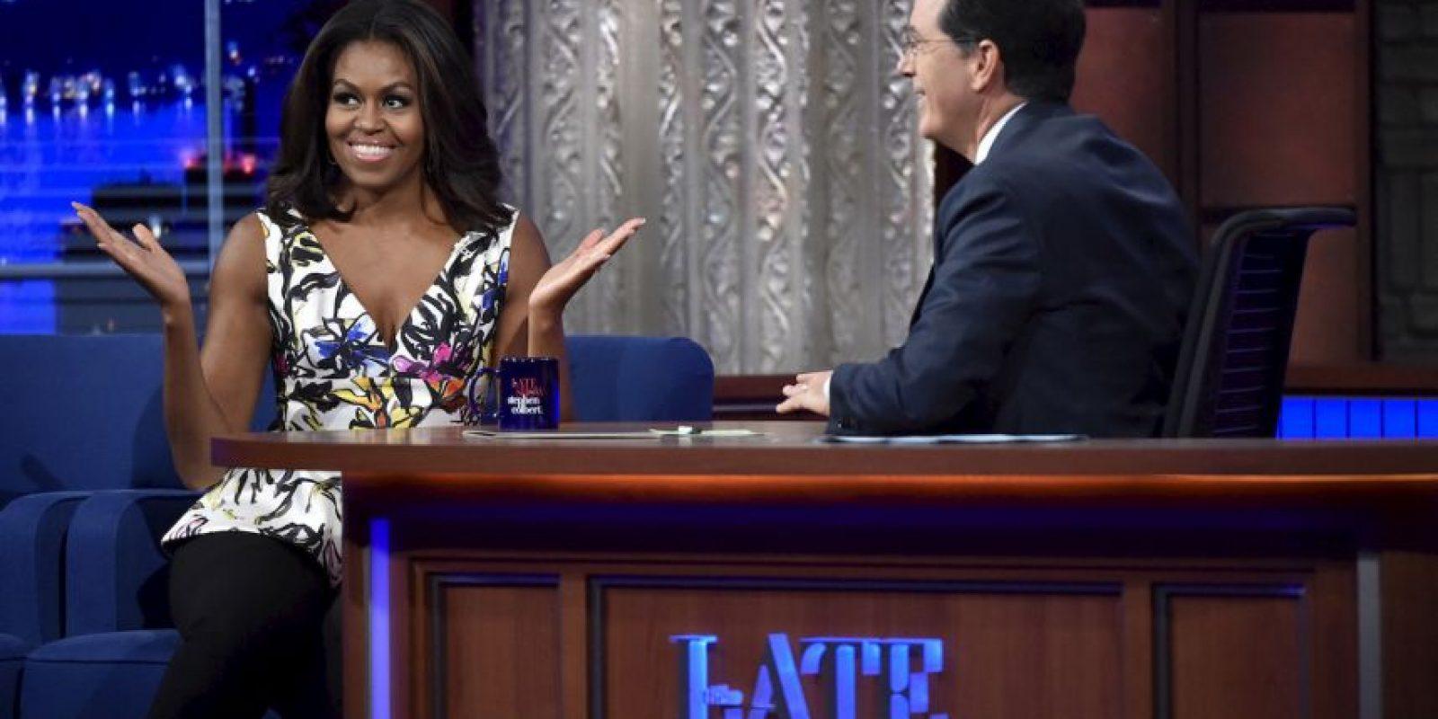 La primera dama aseguró que quiere tener una vida como un civil normal. Foto:AP