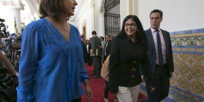 La canciller colombiana María Ángela Holguín se mostró sorprendida ante la actuación de Managua Foto:AP