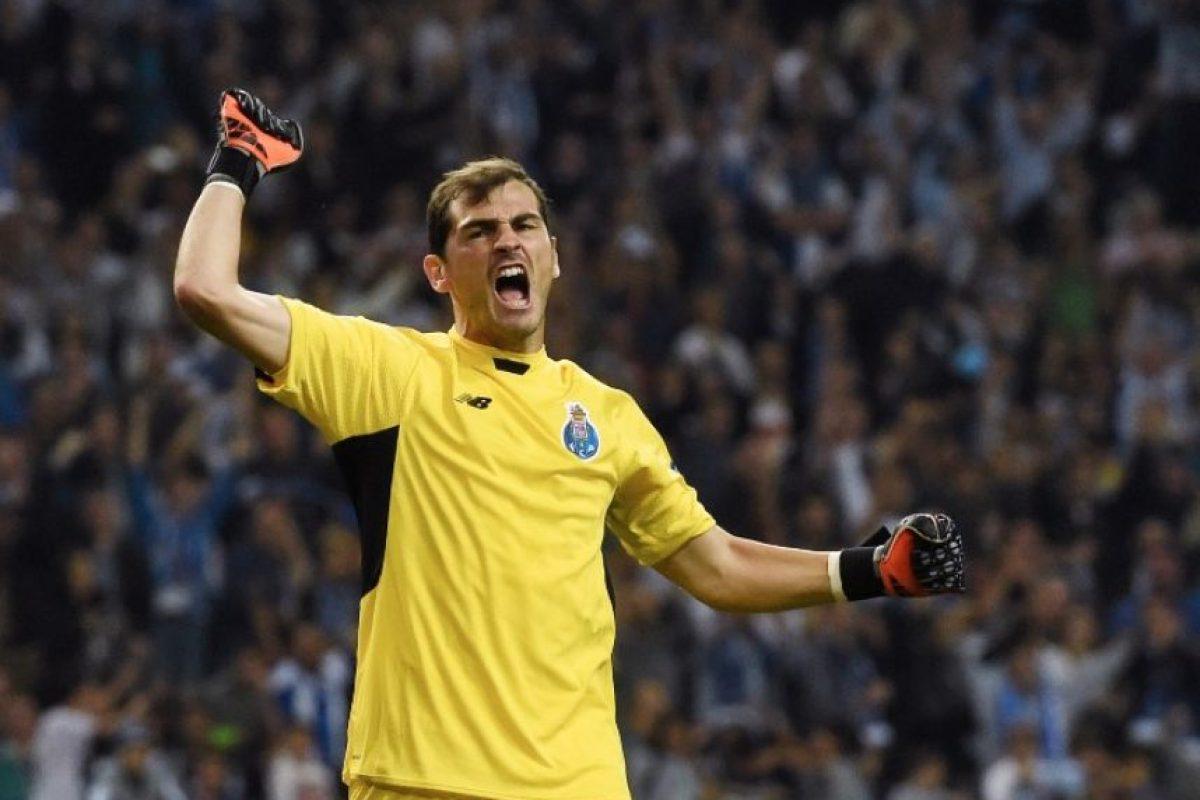 """""""Me la comí"""", dijo Casillas en referencia al gol que permitió en el partido ante Chelsea Foto:Getty Images"""