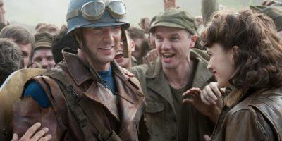 """Y luego de darle vida a """"La Antorcha Humana"""" en """"Los Cuatro Fantásticos"""", Chris Evans fue el afortunado. Foto:vía facebook.com/CaptainAmerica"""