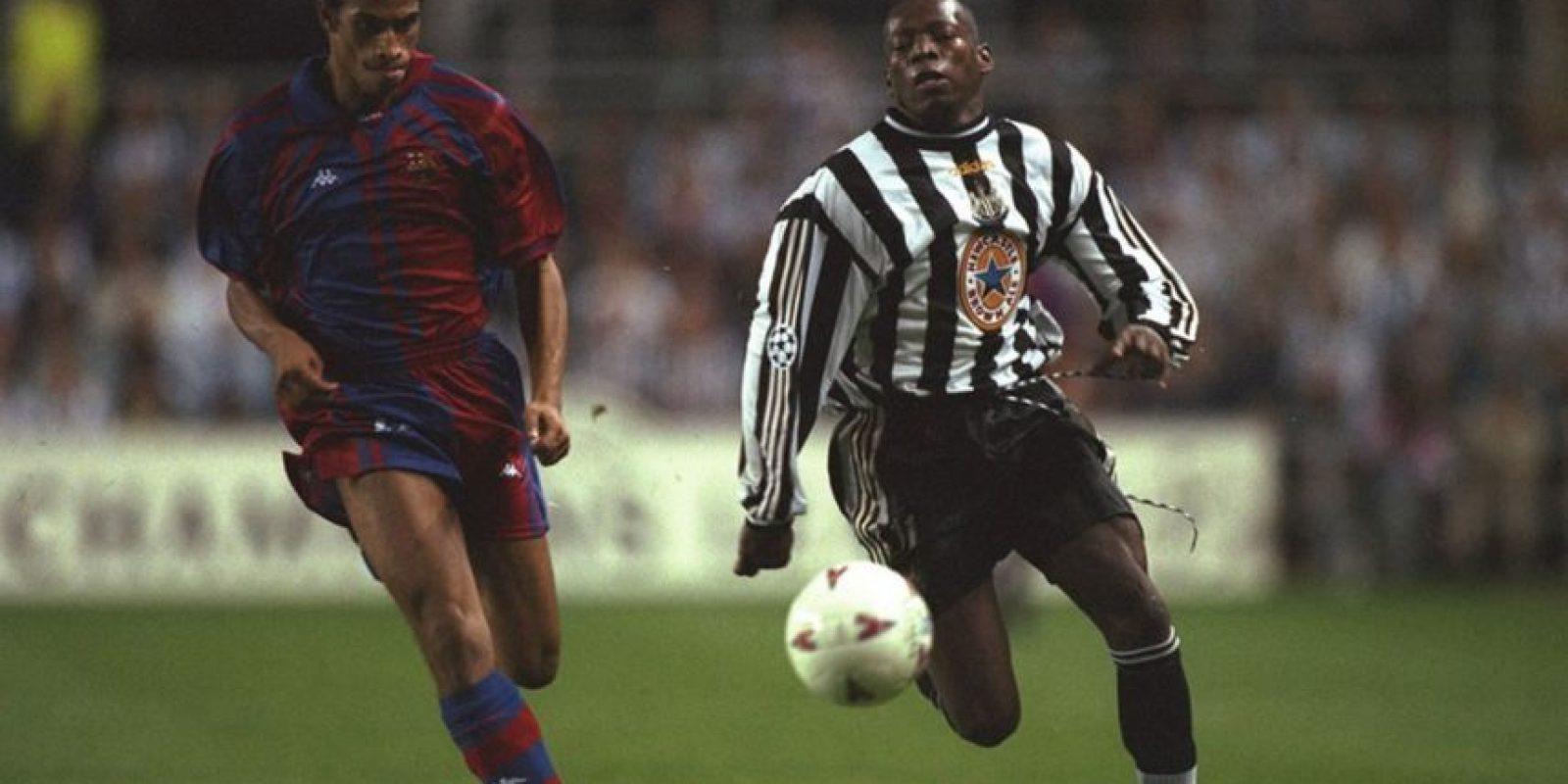 Faustino Asprilla marcó 3 goles en la Champions League 1997/98 frente al Barcelona en un solo partido.