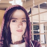 Estudió para ser maquillista en Irlanda. Foto:Instagram/littleirishcat