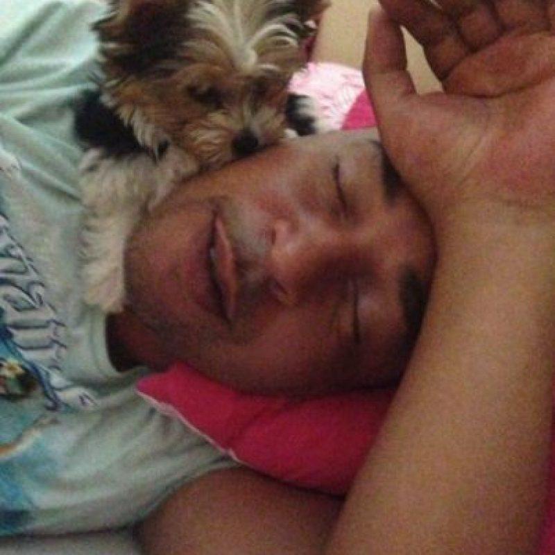 Al igual que su hija, Bega es un amante de los animales. Foto:vía facebook.com/loubegaofficial