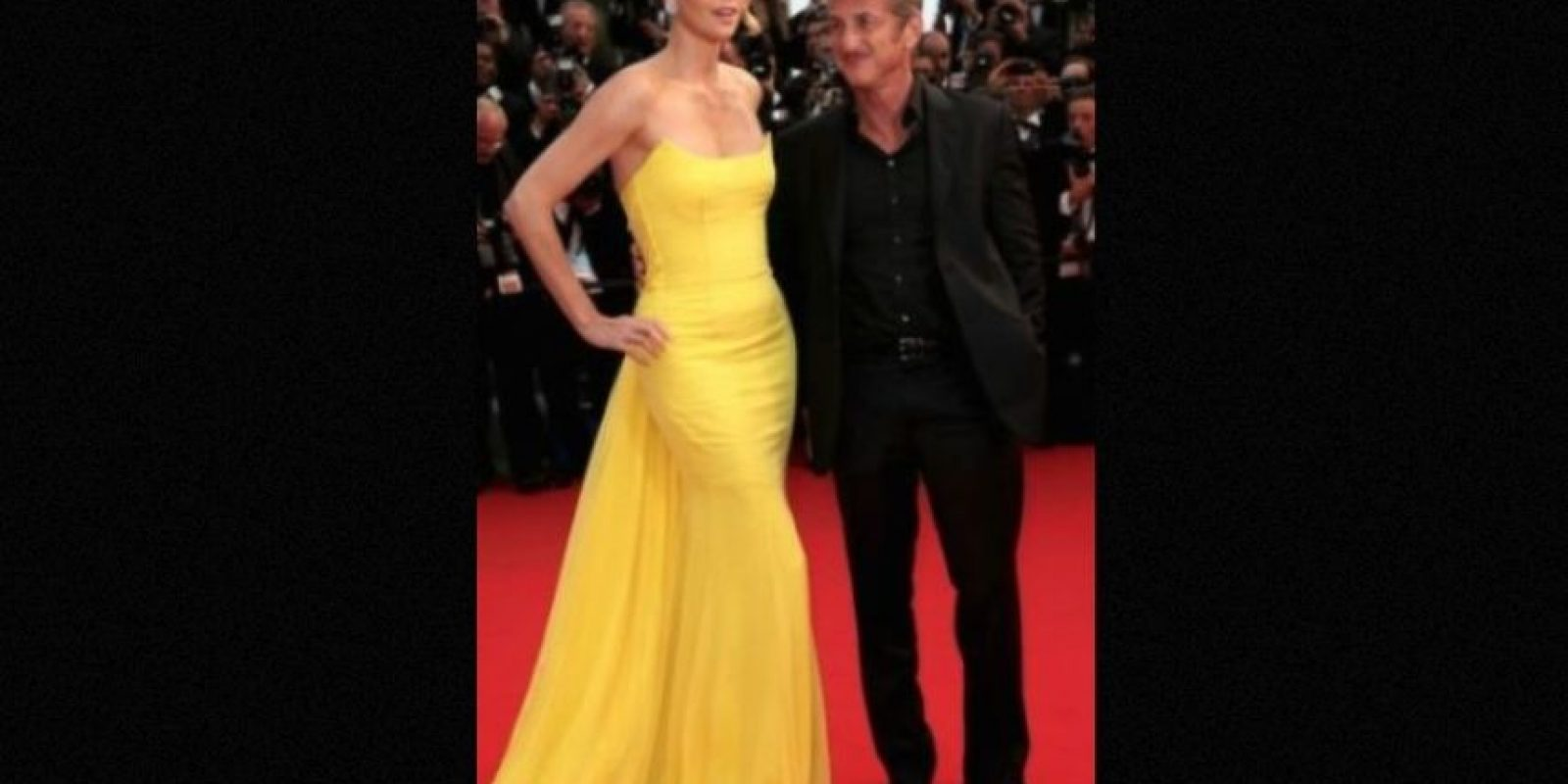 Charlize Theron y Sean Penn Foto: Getty Images