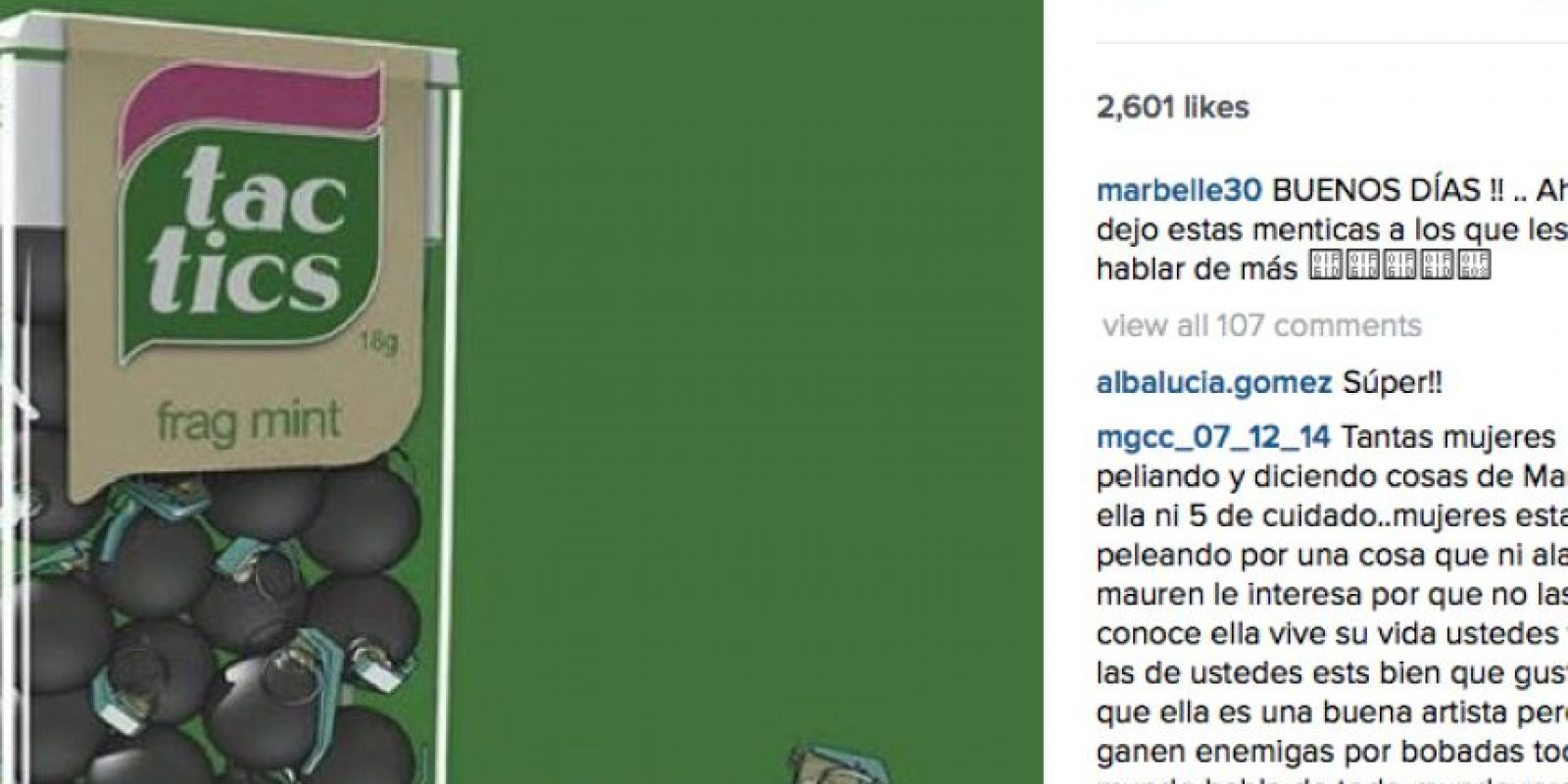 Foto:Instagram marbelle30