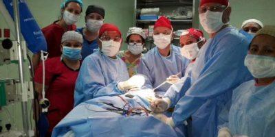La operación duró aproximadamente 14 horas