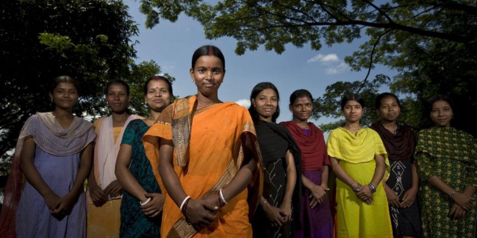 Esta es la representación de Lakshmi, diosa de la prosperidad Foto:Getty Images