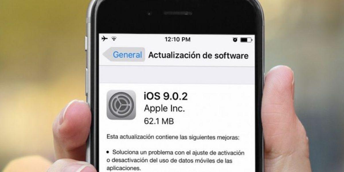 5 problemas que Apple solucionó en el nuevo iOS 9.0.2