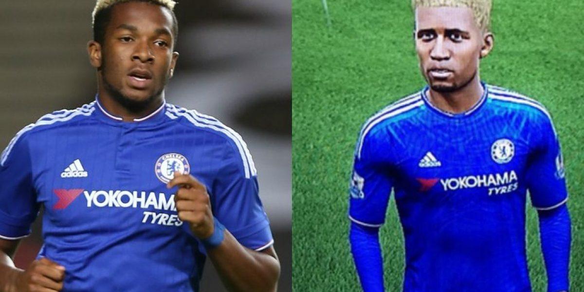 Promesa del Chelsea se queja por no parecerse en el FIFA 16