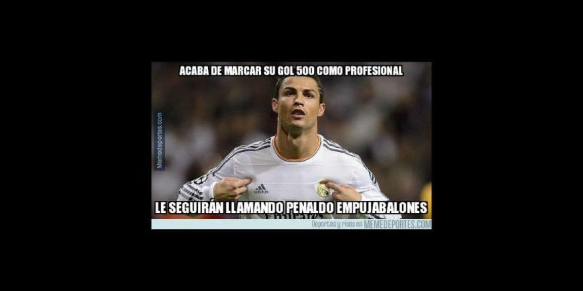 Los memes festejan los nuevos récords de Cristiano Ronaldo