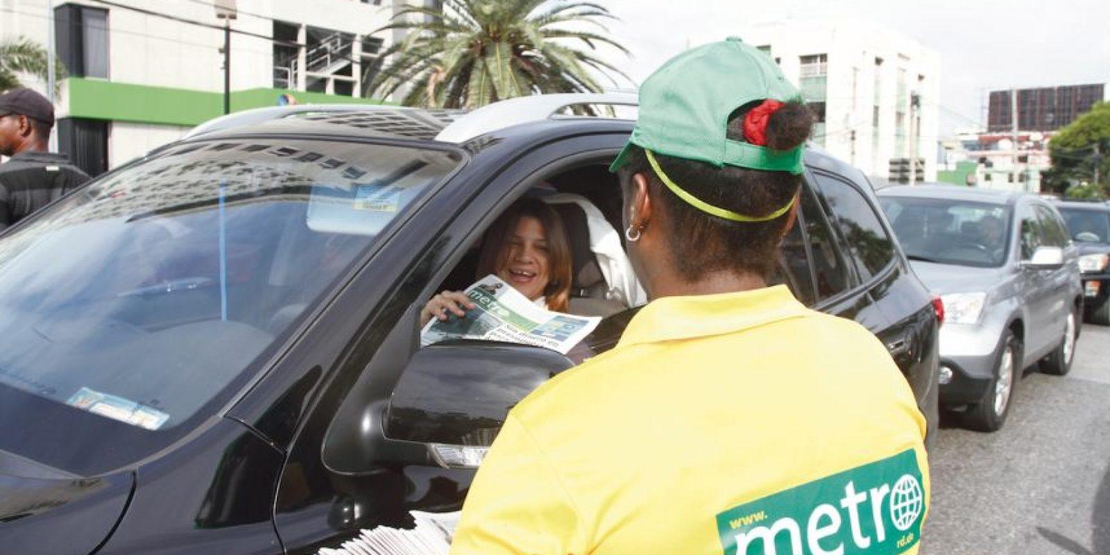 Los usuarios reciben a Metro República Dominicana con mucho agrado Foto:Roberto Guzmán/Metro República Dominicana