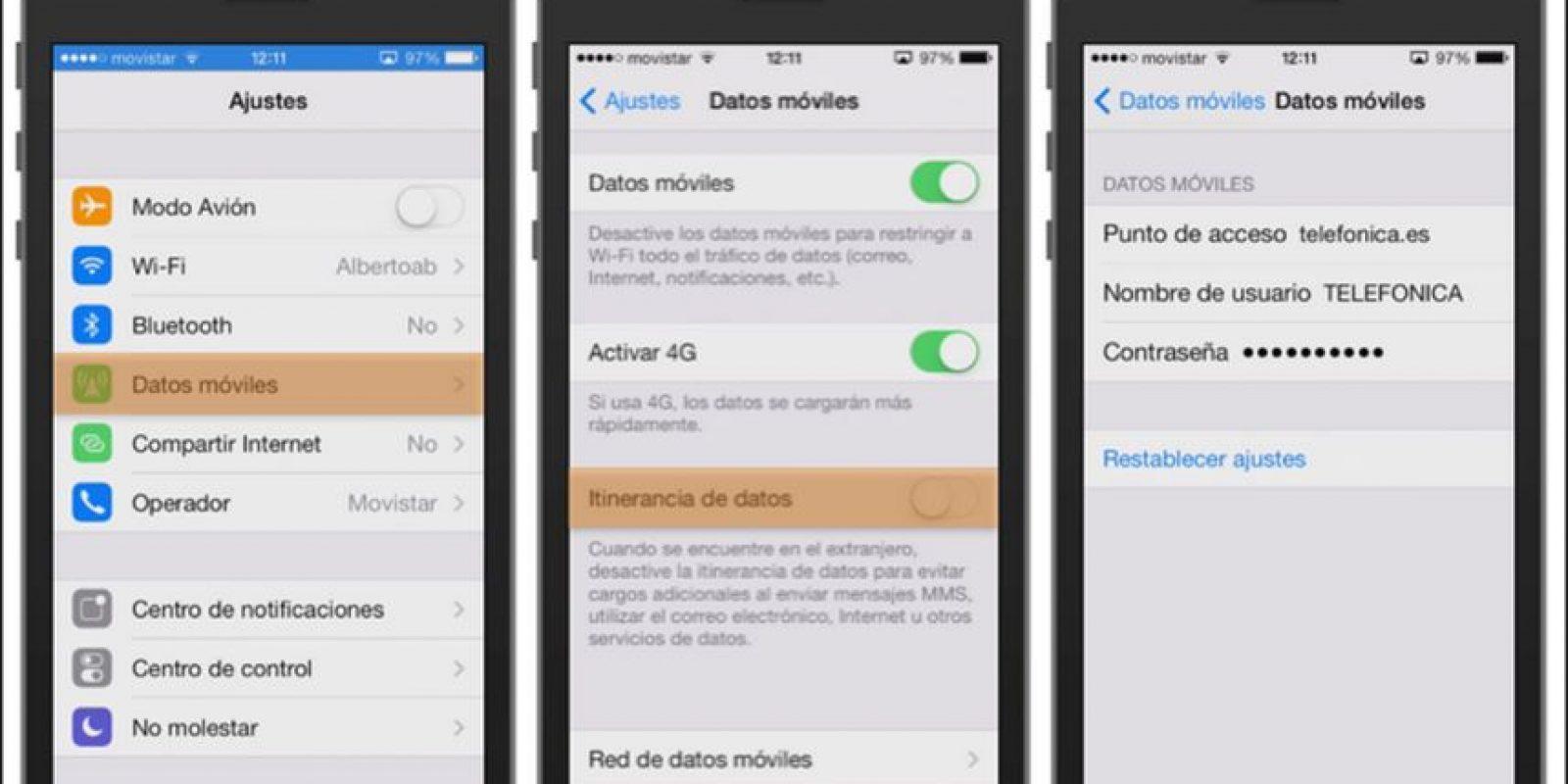 1.- Se solucionó el problema con el ajuste de activación y desactivación del uso de datos móviles Foto:Apple