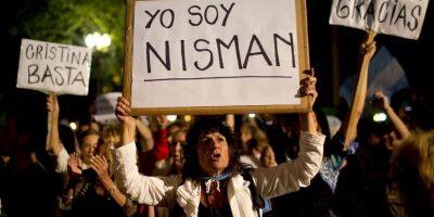 """Sobre Néstor Kirchner, su fallecido esposo y expresidente argentino: """"Son demasiados recuerdos"""". Foto:AFP"""