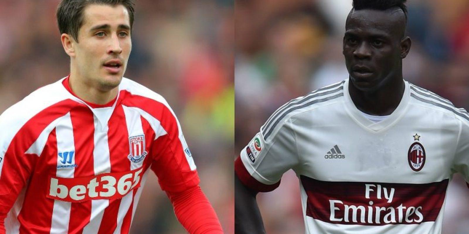"""Bojan Krkick y Mario Balotelli – Ambos tienen 25 años, aunque """"Súper Mario"""" parece de mucha más edad. Foto:Getty Images"""