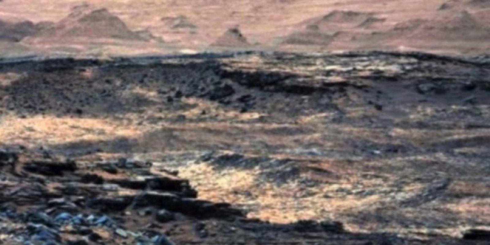 Las ruinas de una ciudad Foto:NASA