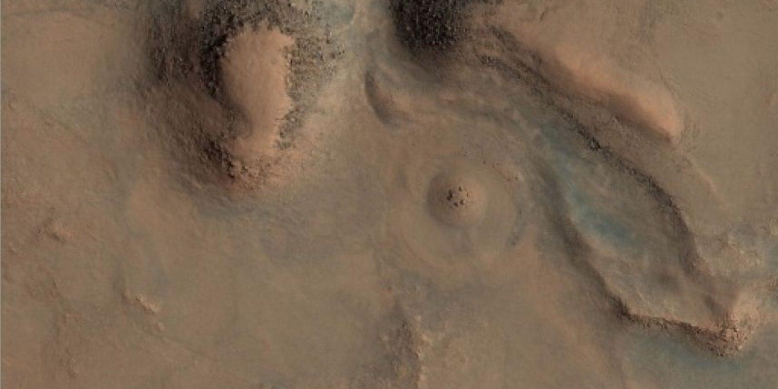 Esta es la imagen difundida por la agencia espacial Foto: Original: http://hirise-pds.lpl.arizona.edu/PDS/EXTRAS/RDR/ESP/ORB_028800_028899/ESP_028891_2085/ESP_028891_2085_RGB.NOMAP.browse.jpg