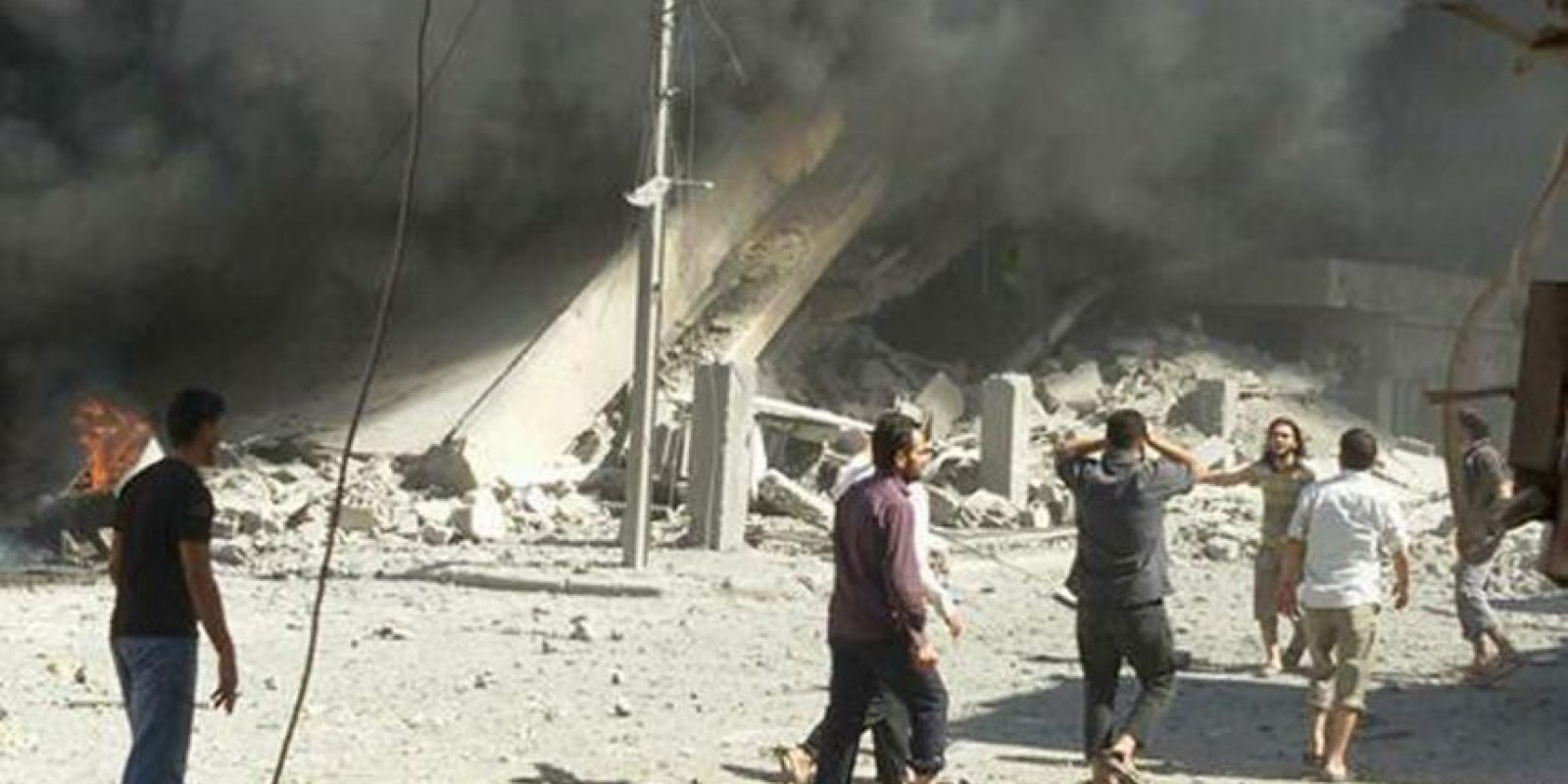 Las zonas de ataque de este jueves fueron: Jisr al-Shughour y Jabal al-Zawiya Foto:AP