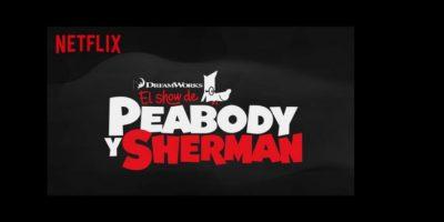 En esta nueva serie original de Netflix, Mr. Peabody, el perro más astuto del mundo, junto a Sherman, son los anfitriones de un estrafalario show de comedia Foto:Netflix