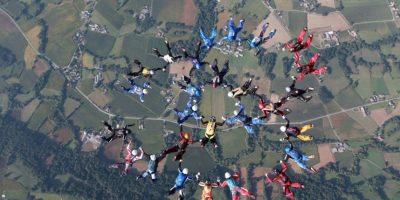 Realizaron varios lanzamientos de práctica antes del oficial. Foto:Vía facebook.com/patrick.passe