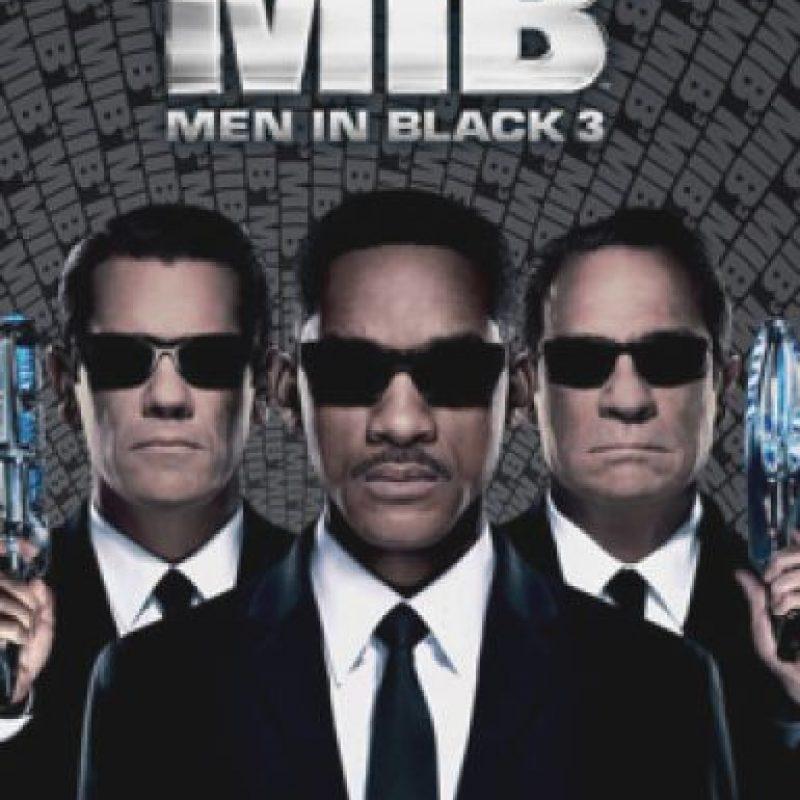La tercera parte de la popular historia de los agentes de negro que salvan al planeta de los extraterrestres malvados Foto:Columbia Pictures