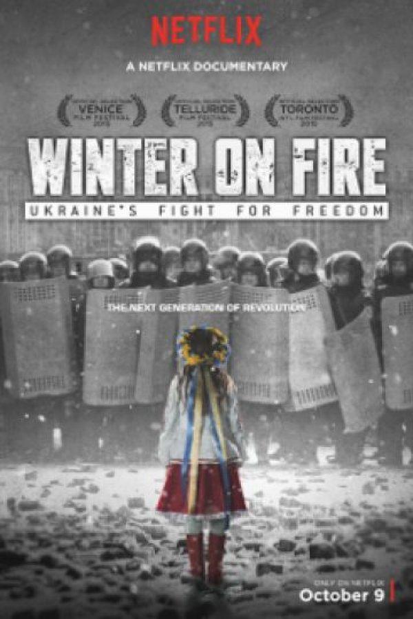 Documental original de Netflix que cuenta los disturbios en Ucrania durante 2013 y 2014 Foto:Netflix