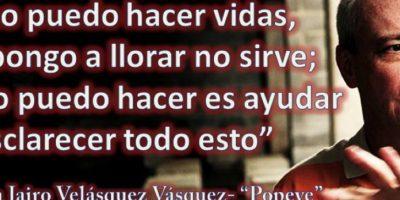"""No se arrepiente de sus asesinatos. Afirma que si volviera Pablo Escobar, lo seguiría de nuevo. Foto:vía Facebook/John Jairo Velásquez Vásquez """"Popeye"""" Página Oficial"""