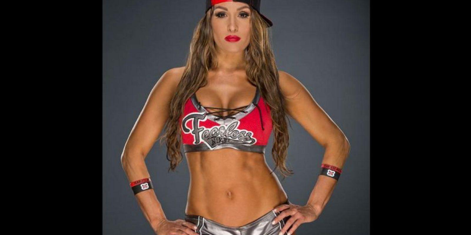 La ascendencia de Nikki es mexicana e italiana (su apellido real es García Colace). Foto:WWE