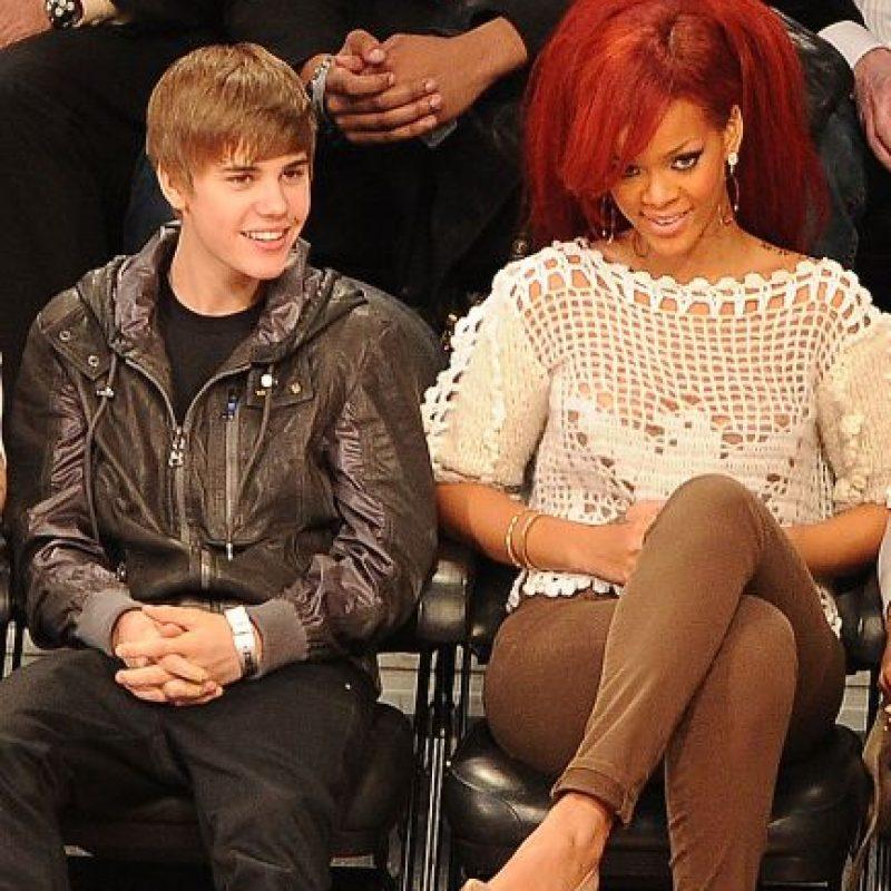 2. Justin publicó una foto de Rihanna que casi al instante la borró, lo cual puso en duda si este tenía un romance con ella e incluso muchos llegaron a decir que eso era una tremenda provocación a Selena Gómez. Foto:Getty Images