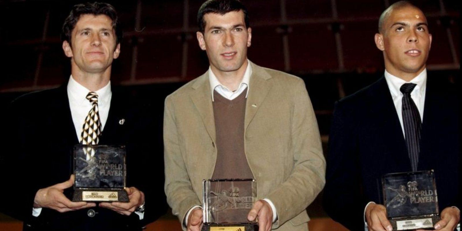 1998: Zinedine Zidane Foto:Getty Images
