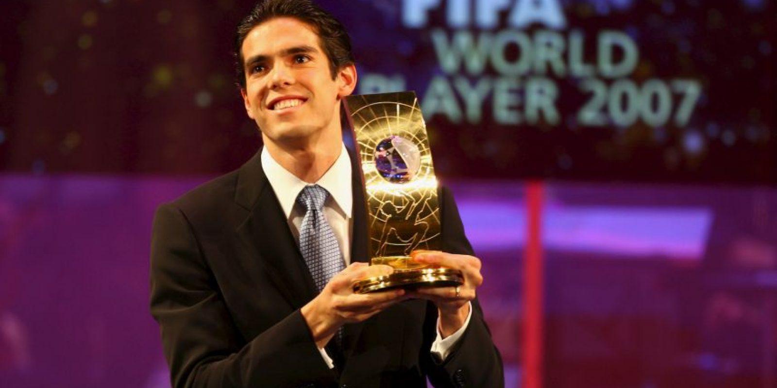 2007: Kaká Foto:Getty Images