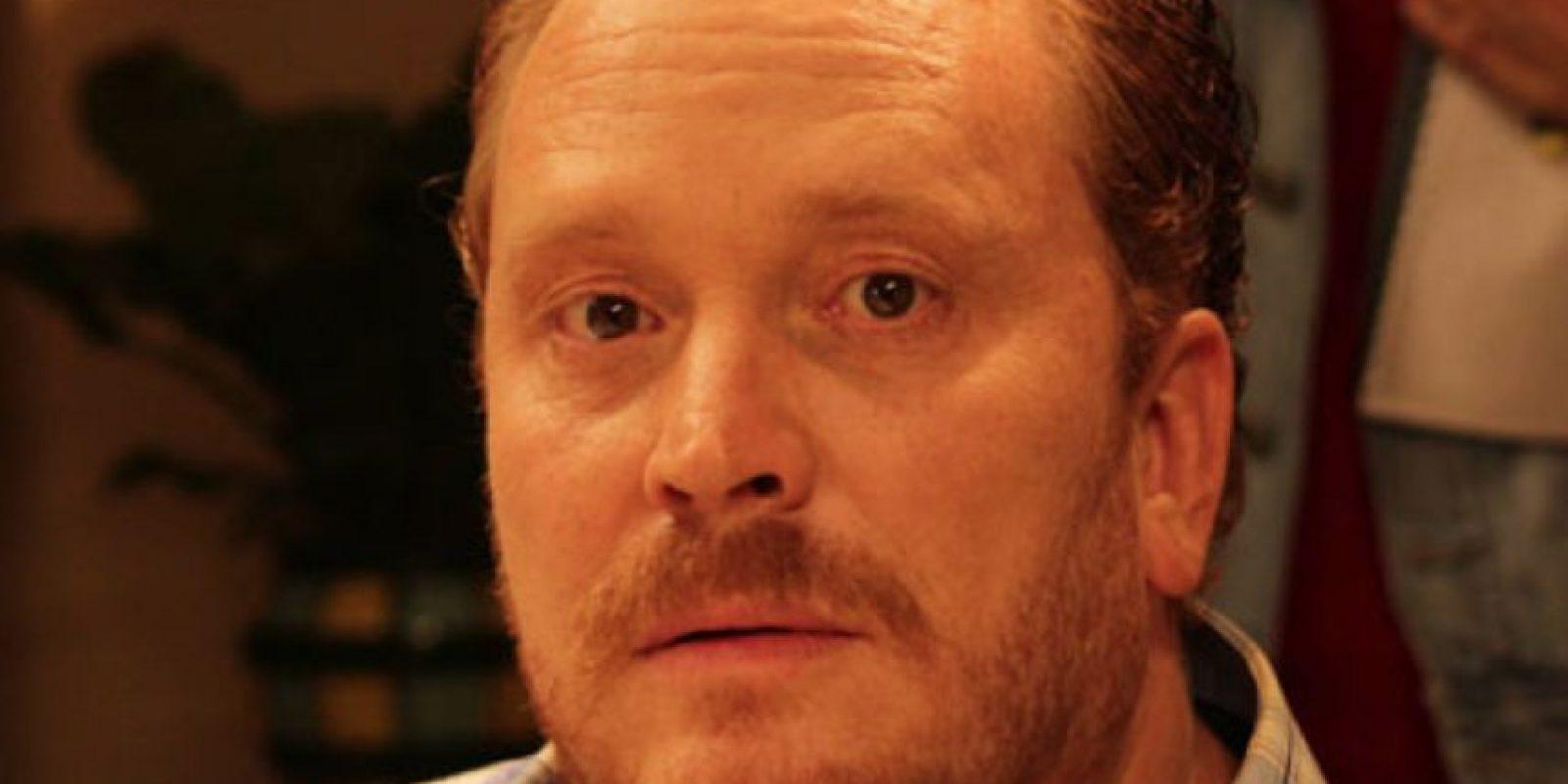 """Christian Tappan era """"Willy"""", el policía que quería atrapar a """"Teresa"""". Foto:vía Telemundo"""