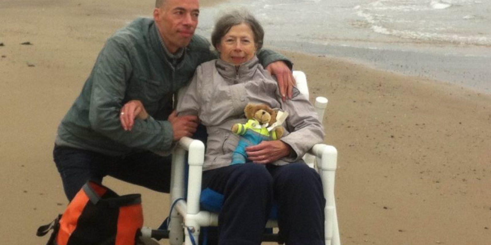 Su último deseo: Su hijo y el mar. Foto:Vía Facebook.com/wensenrijders