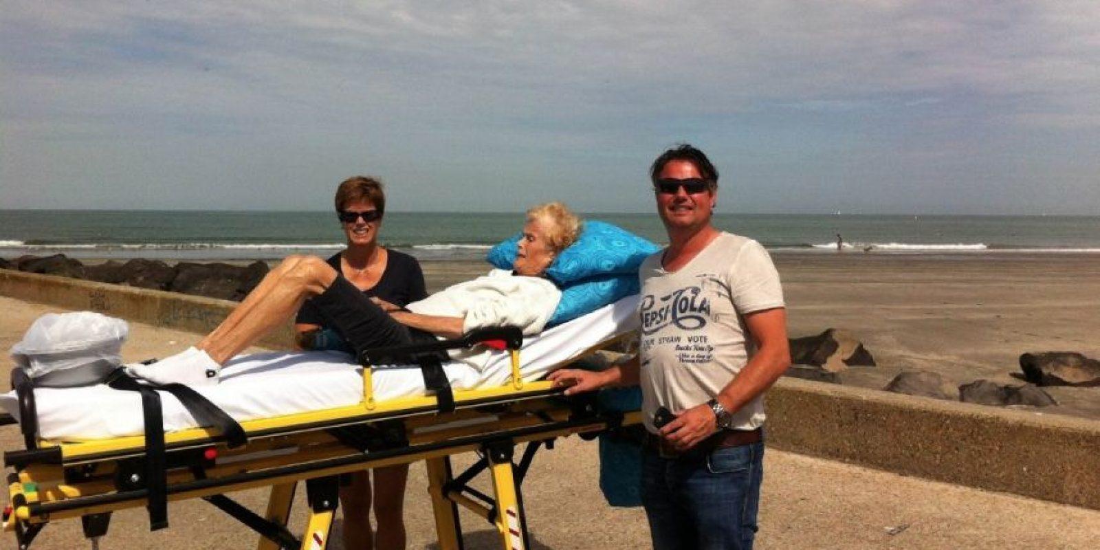 Ir a la playa. Foto:Vía Facebook.com/wensenrijders