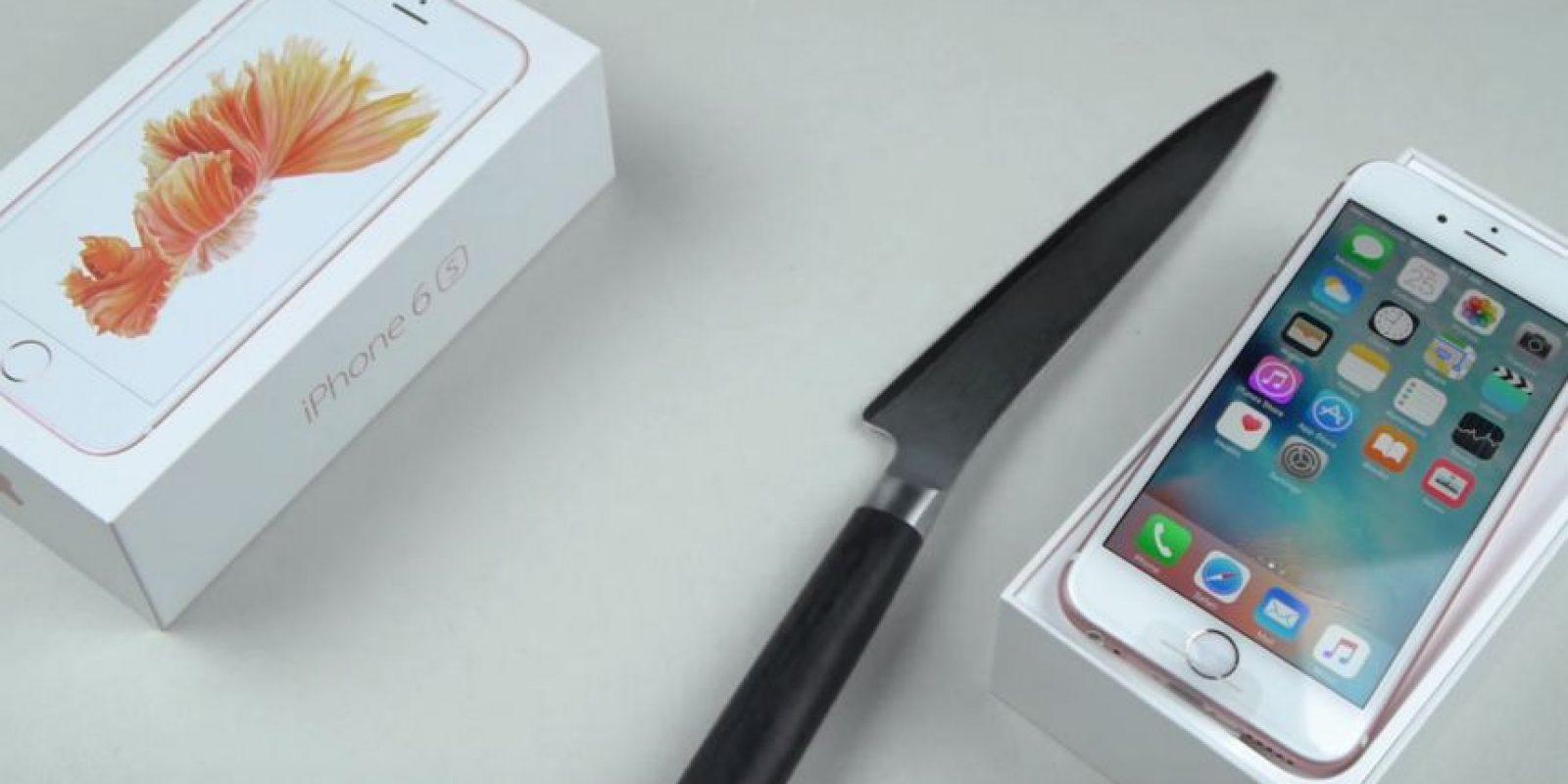 Los instrumentios de tortura: El cuchillo Foto:Youtube/TechRax
