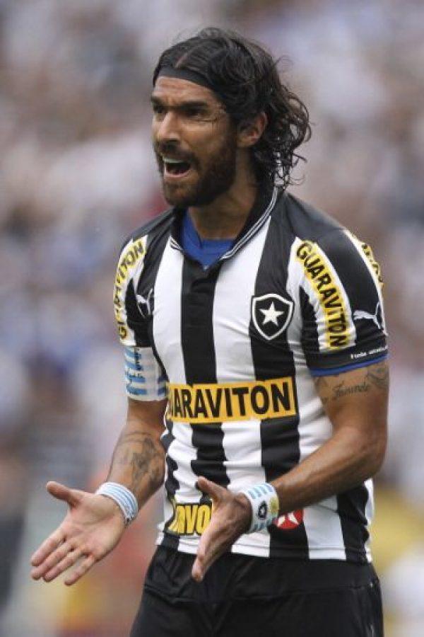 "5. Sebastián ""Loco"" Abreu (Uruguay) Foto:Getty Images"