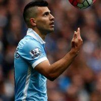 Sergio Agüero hizo cinco goles en 20 minutos. Foto:Getty Images